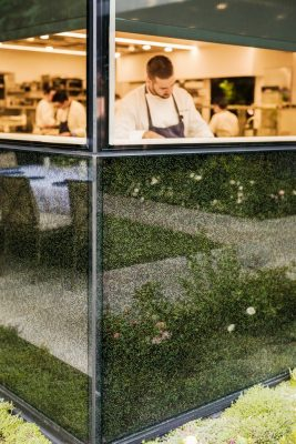 The French Laundry Restaurant in Yountville California