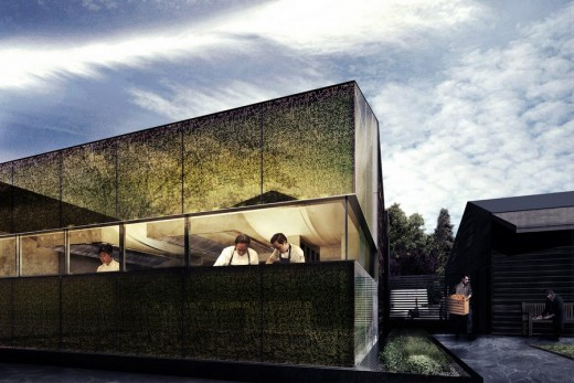 The French Laundry building design by Snøhetta