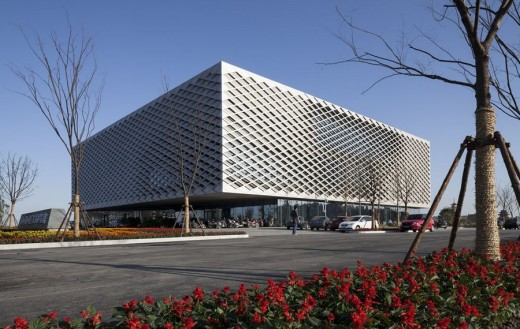 Architectural Development in Nantong, China, design by HENN architects