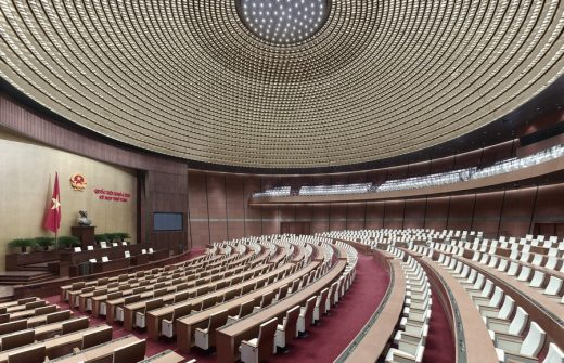 Vietnamese National Assembly in Hanoi