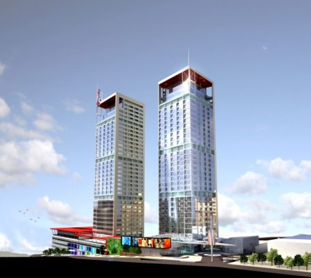 42 Maslak Towers in Istanbul