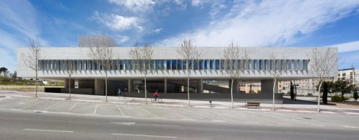 Espacio Miguel Delibes Building in Madrid