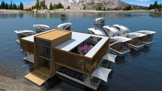 Floating Hotel with Catamaran-apartments