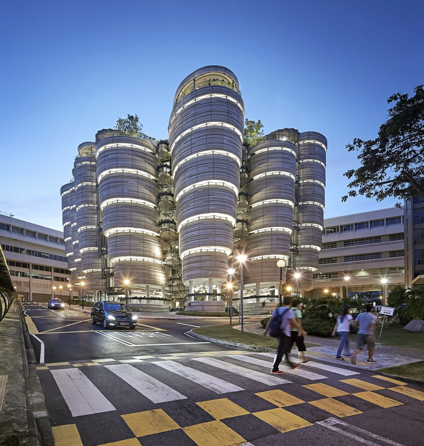 Nanyang technological university learning hub e architect for Product design singapore