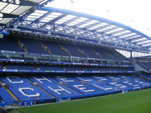 Stamford Bridge Stadium Stand