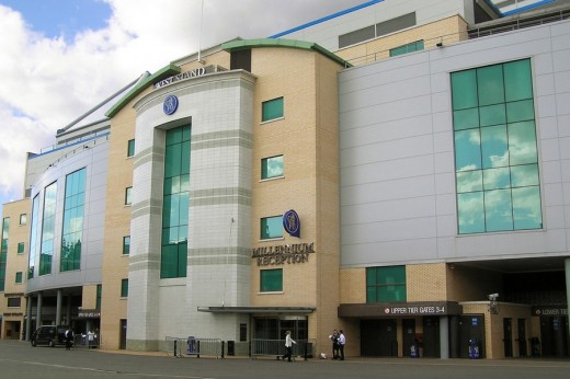 Stamford Bridge West Stand Entrance