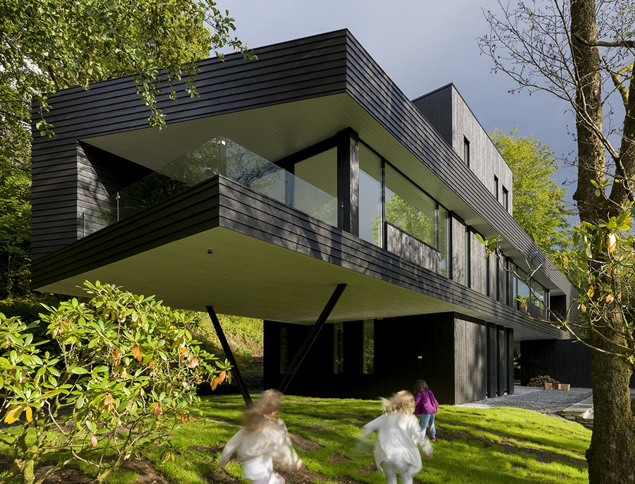 Villa s in bergen e architect for Home architecture analogy