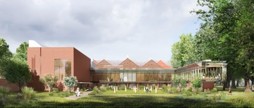 The Whitworth Art Gallery Manchester building design