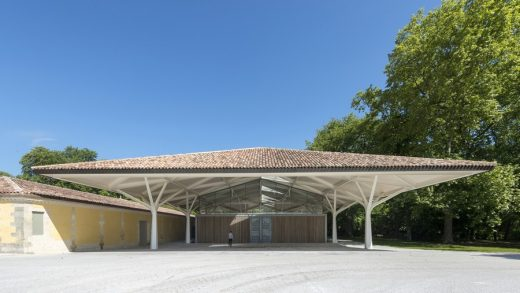 Chateau Margaux Winery Building