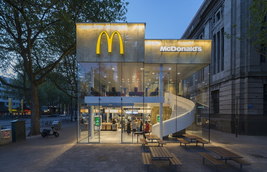 McDonalds In Rotterdam E architect