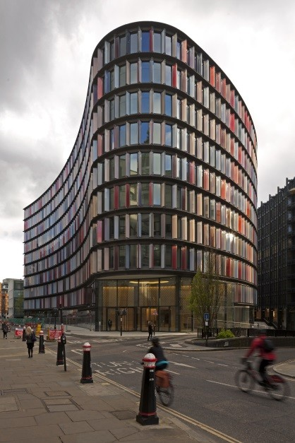New Ludgate Building in London e architect