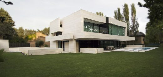 Park House in Madrid