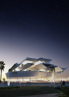 Qatar Courthouse Office Building by AGi architects