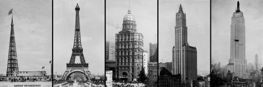 Tower buildings across the world