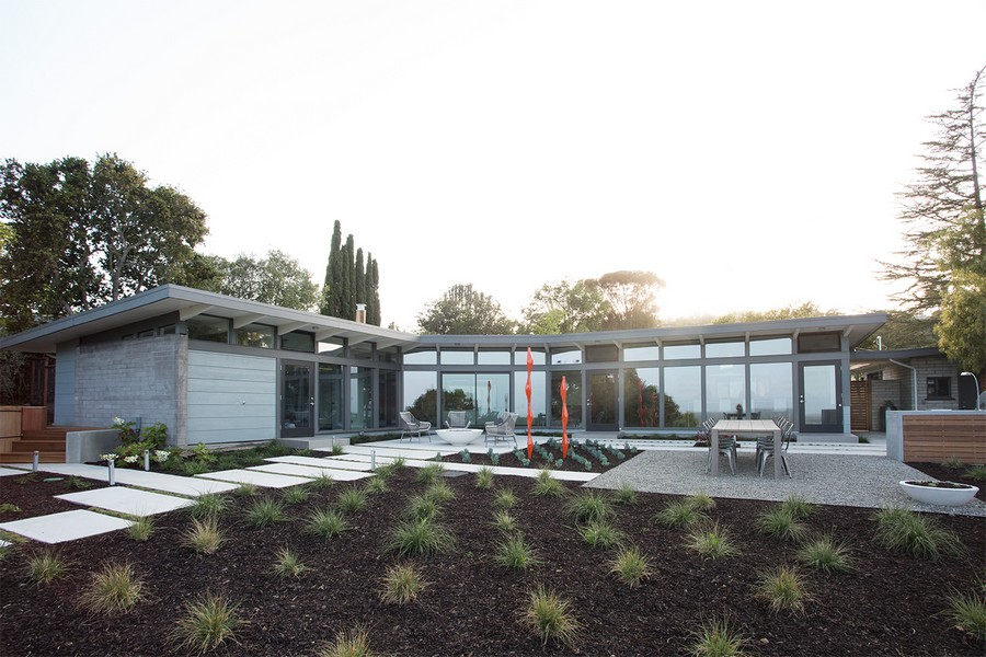 View House in Redwood City - e-architect