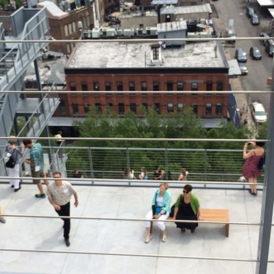 Visit The New Renzo Piano Whitney Museum terrace