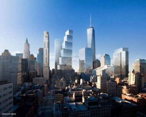 World Trade Center Tower 2 New York by BIG architects