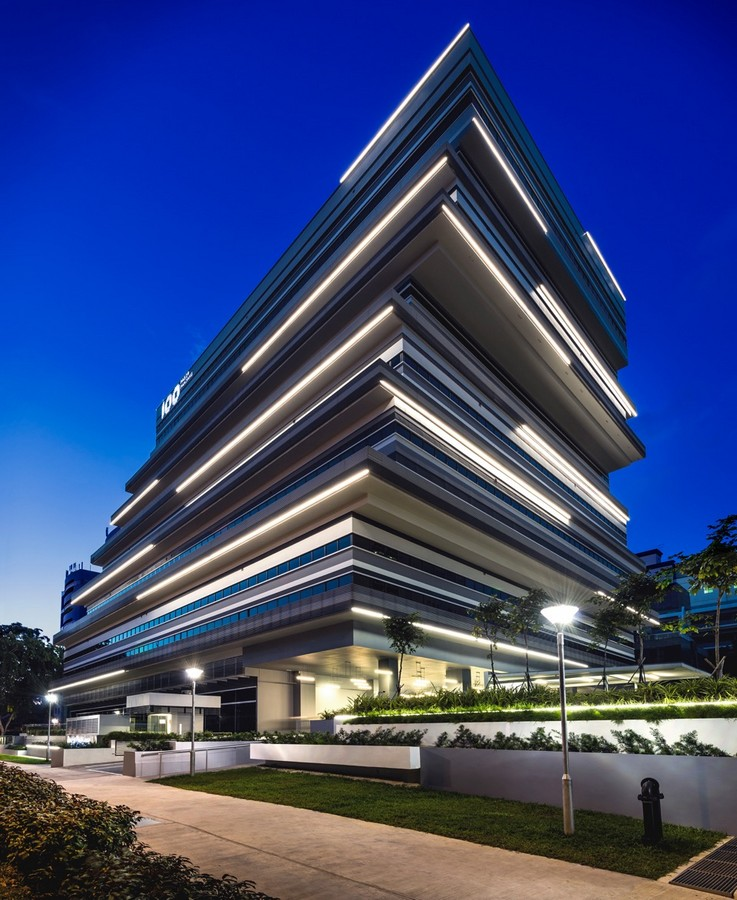 100pp office building in singapore e architect for Architecture building