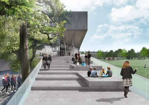 Brighton College Sport and Sciences Building by OMA