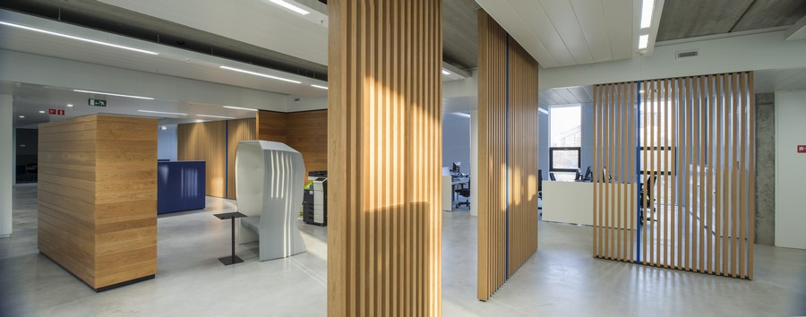 Brussels environment agency headquarters e architect for Interior agency