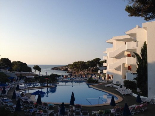 Cala d'Or apartments pool