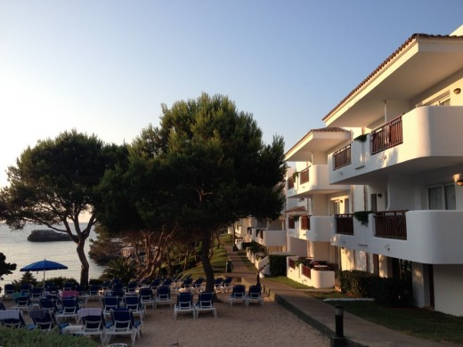 Cala d'Or waterfront apartments