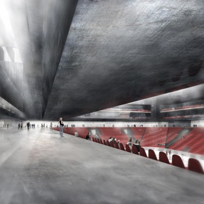 Swiss Ice Sports Center by Mauro Turin Architects