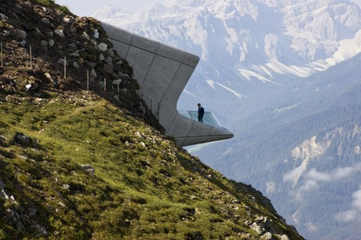 Messner Mountain Museum Building - World Architecture by Country