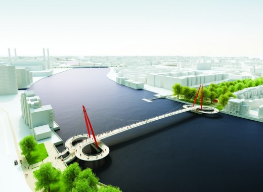 New Nine Elms to Pimlico Bridge 80