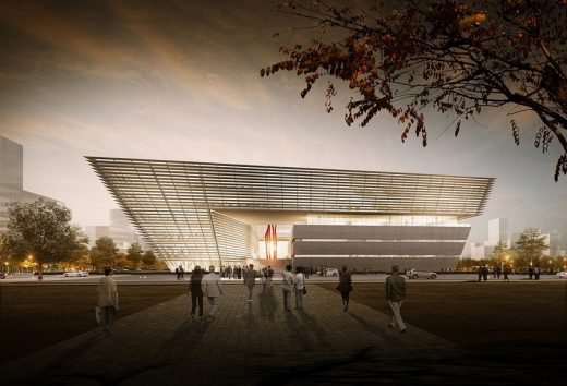 Suzhou Library Building in China