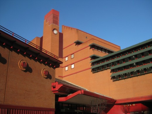 British Library Building London