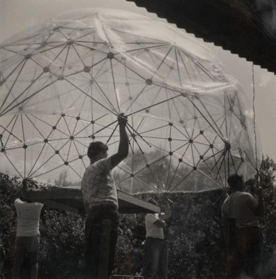 Buckminster Fuller Dome at Black Mountain College
