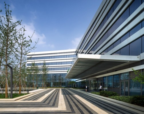 Hotel in Asia Pacific Development, China, design by Aedas architects