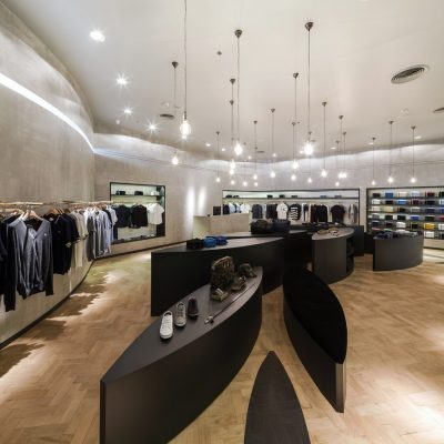 fred perry store bangkok e architect. Black Bedroom Furniture Sets. Home Design Ideas