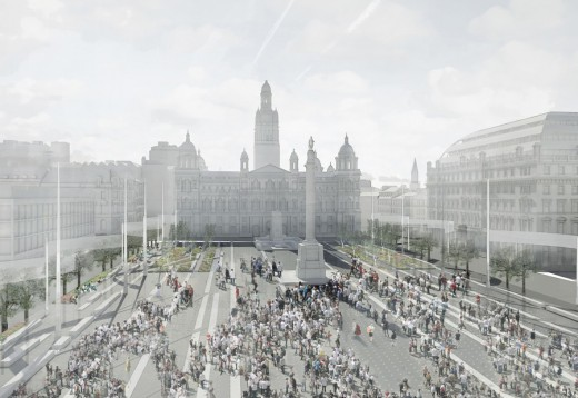 George Square Glasgow Redevelopment