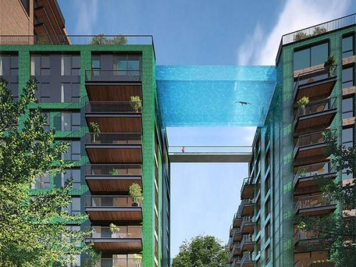 Sky Pool Embassy Gardens Nine Elms