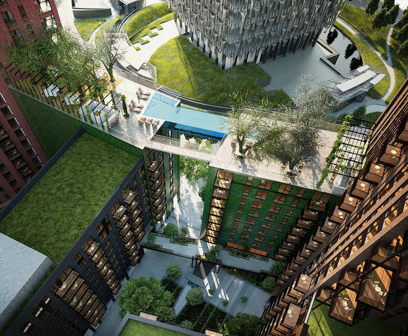 Sky pool embassy gardens e architect - Apartments with swimming pool london ...