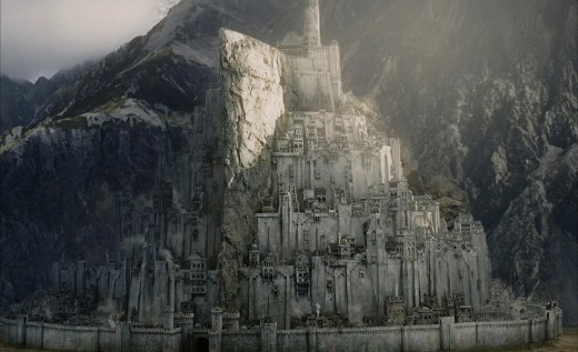 Lord of the Rings City Minas Tirith