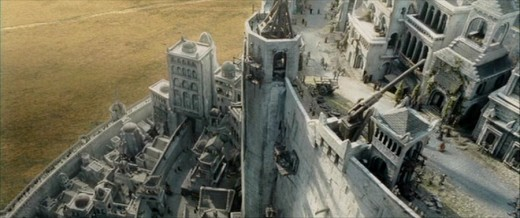 Lord of the Rings Minas Tirith City