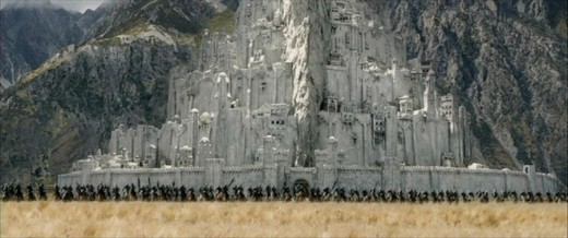 Minas Tirith Lord of the Rings City