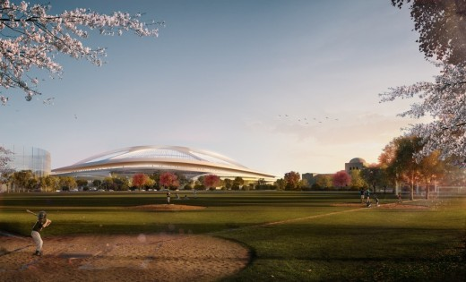 New National Stadium of Japan Design
