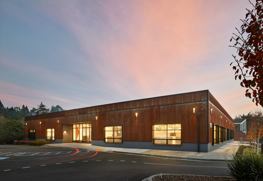 New open office space in mill valley e architect for Mill valley architects