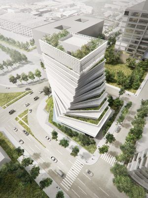 New Rolex Building, Dallas Office Development