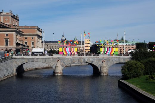 Superstructure in Stockholm