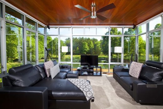 Tangipahoa Zero Energy Retreat in United States of America design by Holly & Smith Architects