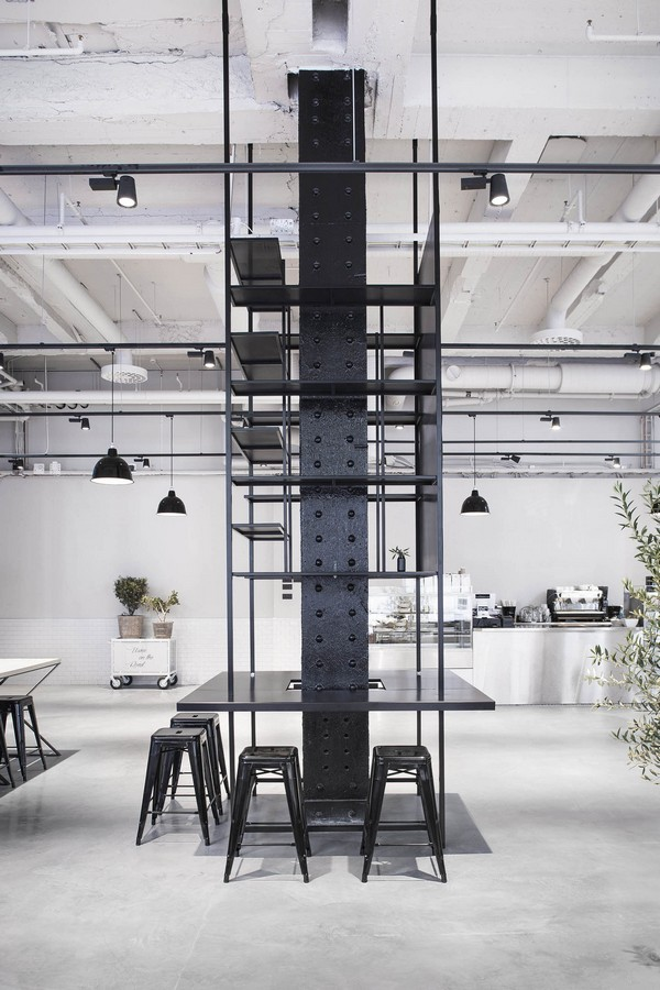 usine restaurant in stockholm e architect. Black Bedroom Furniture Sets. Home Design Ideas