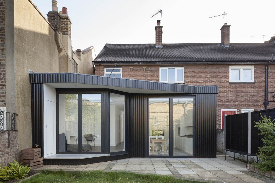 double garage extension ideas - Victoria Park House Extension and Renovation e architect