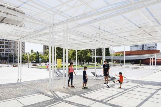 Plaza Pavilion in Holon