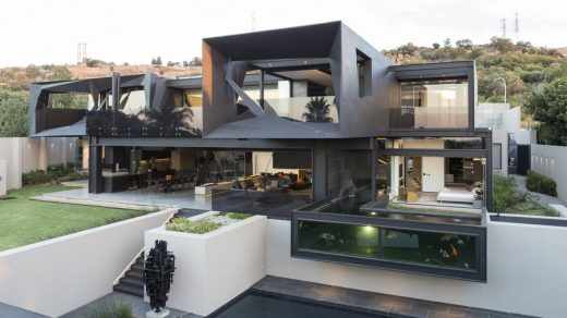 Kloof Road House in Johannesburg