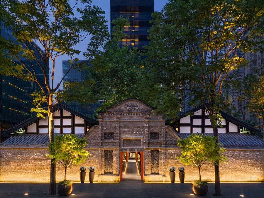 The Temple House Hotel In Chengdu E Architect